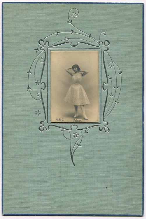 polaire emilie marie bouchaud 1874 1939 carte. Black Bedroom Furniture Sets. Home Design Ideas